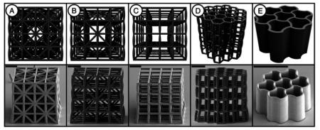 С помощью 3D-принтера создан материал, который легче воды и обладает прочностью стали