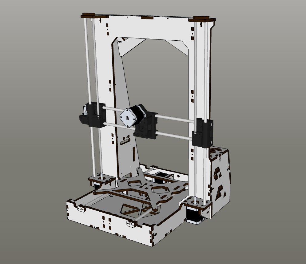 Простой 3д принтер своими руками